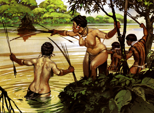 Amazonian women nude art Exaggerate. Big
